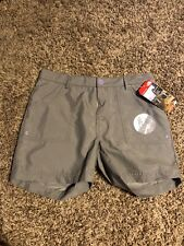 Nwt  The North Face Girls Argali Shorts Size 14-16 Pache Grey