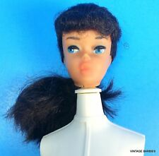 Raven Ponytail Barbie Doll #850 Head Only TLC ~ Vintage 1960's