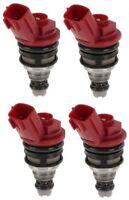 740cc fuel injectors x 4 for Nismo Nissan Silvia 200sx S13 S14 S15 SR20DET RR544