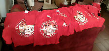 Los Angeles Angels of Aneheim- 9 Shirts - 2001 World Series - Kid's Sizes  M & S