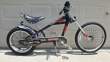 "Schwinn Stingray Bike OCC Chopper Black/Red 20"""