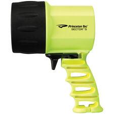Princeton Tec Sector 5 Hand Torch Emergency LED Spotlight Strobe Neon Yellow