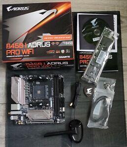 Gigabyte B450 I AORUS PRO WIFI ITX Mainboard Sockel AM4 M.2/2xHDMI/DP/WLAN/BT