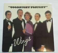 "Paul McCartney & Wings ""GOODNIGHT TONIGHT"" MINT VINYL COLUMBIA 12"" SINGLE 1979"
