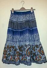Cotton Blend Hippy, Boho Unbranded Regular Skirts for Women