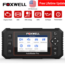 FOXWELL NT614Elite Auto OBD2 Diagnostic Scanner Tool ABS SRS AT EPB Oil Reset