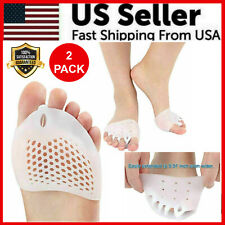 2PCS Silicone Bunion Toe Corrector Orthotics Straightener Separator Pain Foot