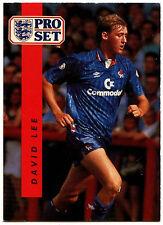 David Lee Chelsea #32 Pro Set Fútbol 1990-1 tarjeta de comercio (C363)