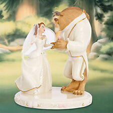 Lenox Disney Beauty & The Beast Belle's Wedding Dreams Cake Topper Figurine