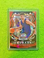 DENI AVDIJA CRUSADE RED ICE PRIZM ROOKIE CARD JERSEY#8 ISRAEL RC WIZARDS SP 2020