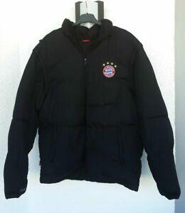 FC Bayern München Jacke Steppjacke Winterjacke Fanjacke Gr.S