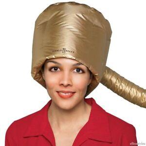 Gold N Hot Jet Bonnet Dryer Attachment Heat Cap For Most Hand Held Dryers GH9477