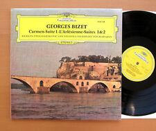 DG 2530 128 Bizet Carem Suite 1 L'Arlesienne Suites 1 & 2 Karajan 1971 NEAR MINT