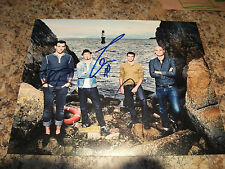 HEDLEY 8 X 10 PHOTO SIGNED BY 3 JACOB HOGGARD ,TOMMY MAC ,CHRIS CRIPPIN
