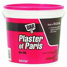 8lb Plaster Of Paris DAP10310 ideal for hobby molds and casts, sets quick 4PK