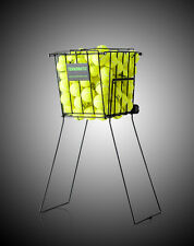 Tennis Balls Pick-Up Basket with wheels ,  120 Balls capacity