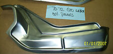 Pontiac GTO Trunk Filler Dropoff Waterfall Panel Left Made in USA - 1970-1972