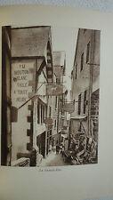 MONT SAINT MICHEL. Le Mont Saint-Michel.  1927