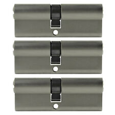 Perfil 3x cilindro 85 mm 40/45 +15 llaves cerradura de cilindro uniforme