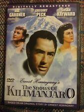 The Snows of Kilimanjaro (DVD 2006)  Gregory Peck, Ava Gardner & Susan Hayward