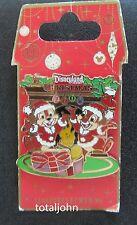 Disney DLR - Christmas 2008 - Chip & Dale Pin
