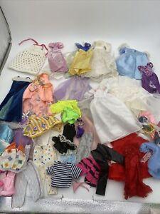 HUGE LOT  Of Vintage BARBIE Ken & Friends , Clothes, Accessories Dresses