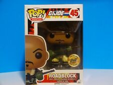 Funko Pop G.I. Joe Roadblock Bait Exclusive #45 w/ Soft Protector