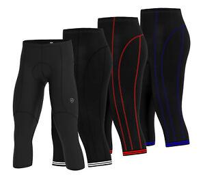 Mens new cycling pant 3/4  Anti Bac padding Cycle tight shorts