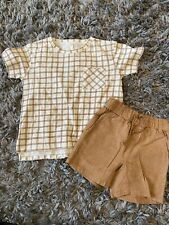 Rylee And Cru Boys Size 4-5 Shirt And Shorts