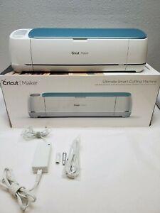 Blue Cricut Maker Ultimate Cutting Machine, - Includes  Blade, Pen Adapter