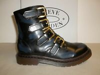 Steve Madden Size 7 M MCBETH Navy Splashes Fashion Ankle Boots New Womens Shoes