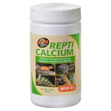 Zoo Med Repti calcium carbonate supplement with D3 Net weight 12 oz