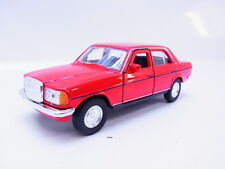 47765 Welly Limousine Mercedes Benz MB W123 1975-1986 Modellauto rot 1:40 NEU