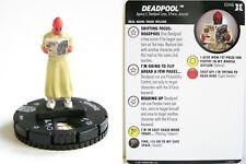 HeroClix Deadpool and X-Force - #034b Deadpool