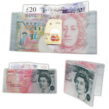 50 Pound Mens Womens Unisex Designer Currency Notes Pound Dollar Wallet Purse