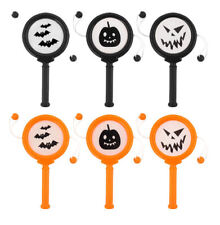 6 MINI Halloween Mano Tamburi-Pinata Giocattolo Bottino/Party Bag Filler Nozze/Bambini