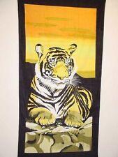 Bengal Tiger Towel beach rocks Background new