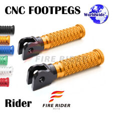 POLE Front CNC Footpegs Footrests For Honda CBR1000RR Fireblade / ABS 08-16 09