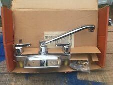 antique faucet kitchen sink Wolverine faucet victorian kitchen deco Brass New