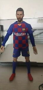 """Real Masterpiece 1/6 Soccer Football Star Barcelona Messi B 12"""" Action Figure"""