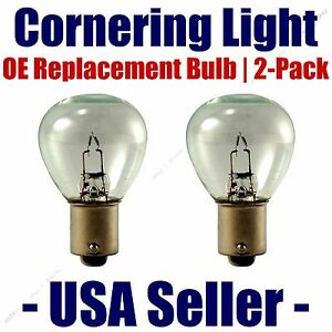 Cornering Light Bulb OE Replacement 2pk - Fits Listed Dodge Vehicles - 1195
