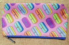CLINIQUE Zipped Pouch/Makeup/Bag/Toiletry Bag & CLINIQUE travel Mirror + gift
