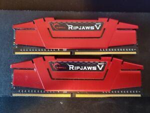 16GB (2x8GB) DDR4 2400MHz G.Skill Ripjaws V CL-15-15-35 1.20V [F4-2400C15D-16GVR