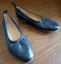 CLARKS Cushion Plus Black Ballet Flats Shoes Size US 6 M (Could fit 6.5-7)
