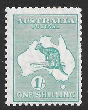 Australia 1929 1/- Blue-Green SG 109 (Mint)