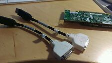 Dell NVIDIA Quadro NVS 295  256 MB GDDR3 SDRAM  adapter with 2 cables