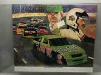 Vintage Interstate Batteries 1992 Racing Poster 22x27 Promotion