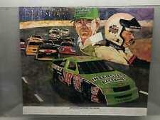 Vintage Interstate Batteries 1992 Racing Poster 22x27 Promotion