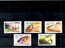CABO VERDE,  2001, FISHES, 4v. MNH,