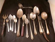 JOB LOT 14 VINTAGE ANTIQUE CUTLERY EPNS WESTHILL KAY&Co ALPACA UNIVERSE SILVER